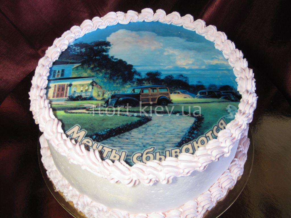 торт мечта центральный фото
