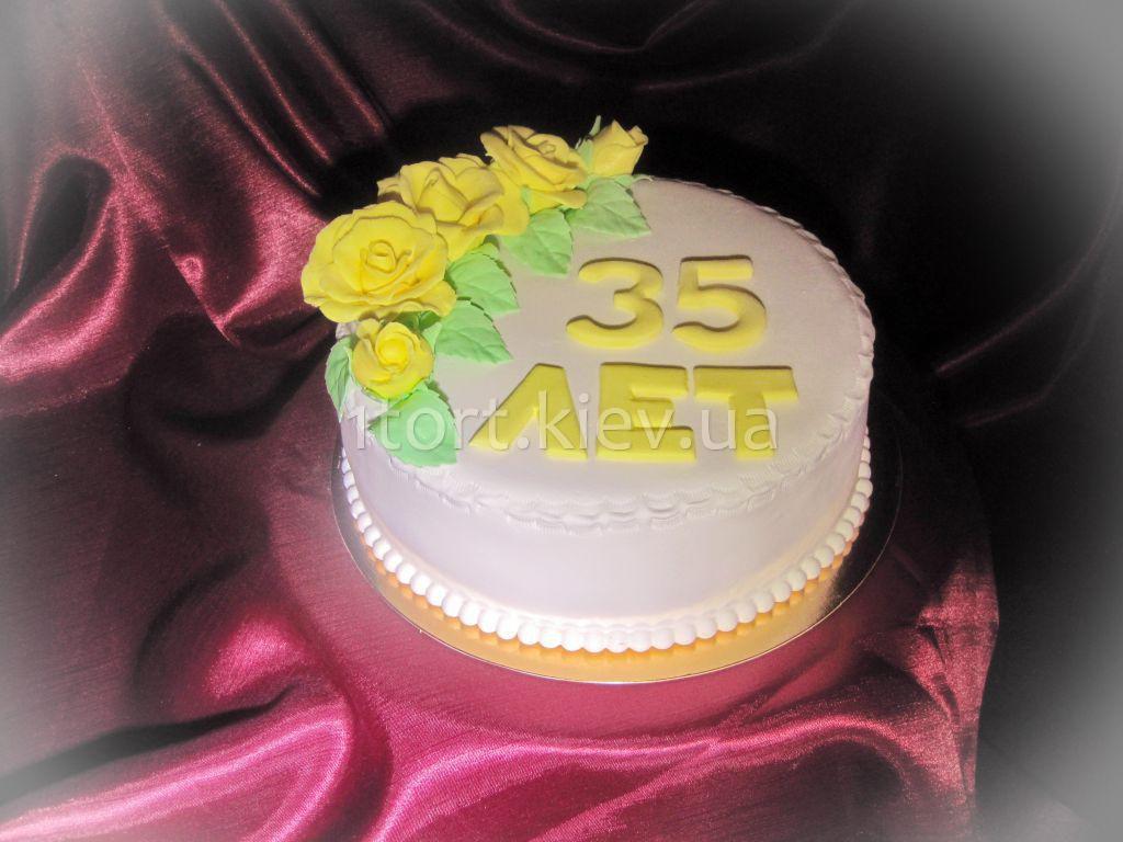 Торт на 35 лет фото