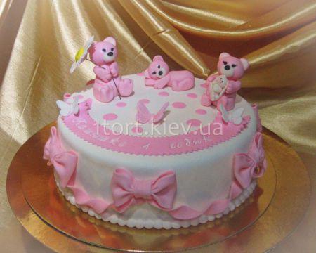 Торты для девочек на 1 годик