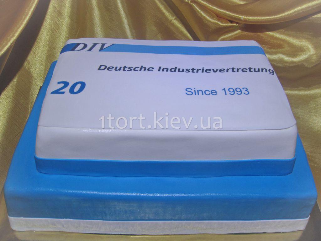 Торт для фирмы фото