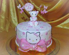 Торт китти hello kitty