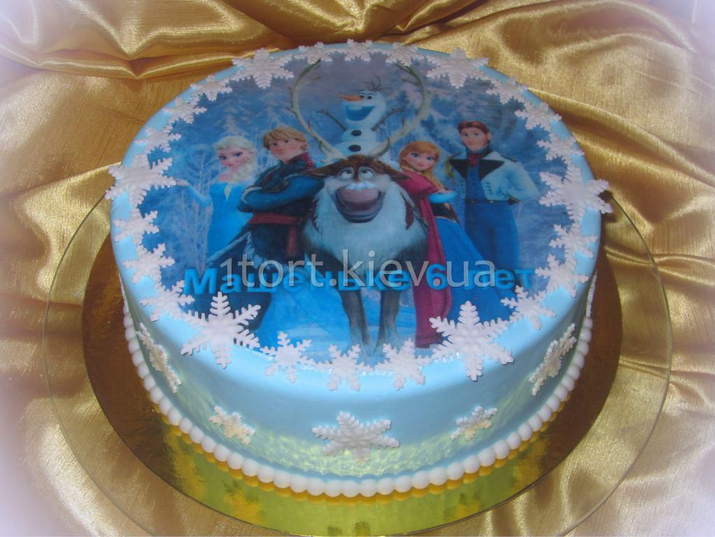 торт холодное сердце фото